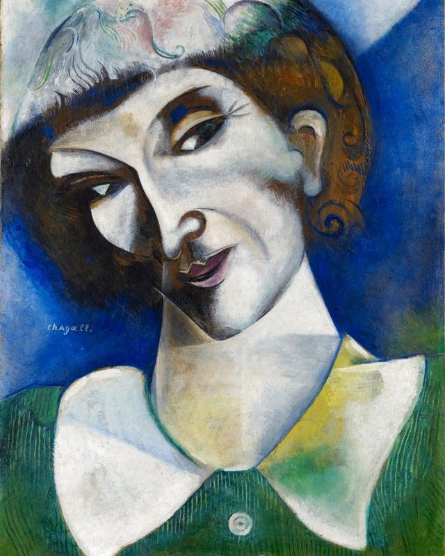 «Selbstbildnis» (1914).