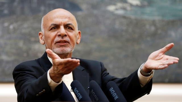 Afghanistans Präsident Ashraf Ghani