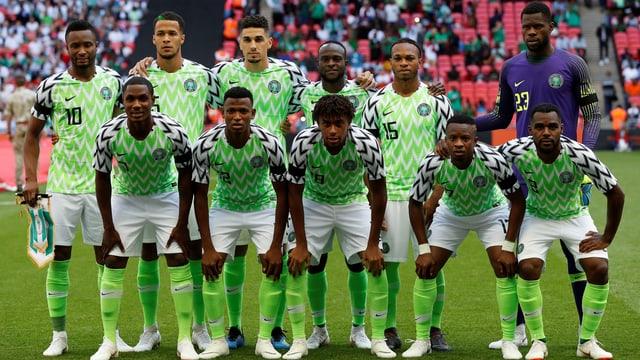 Nigerianische Fussballnationalmannschaft