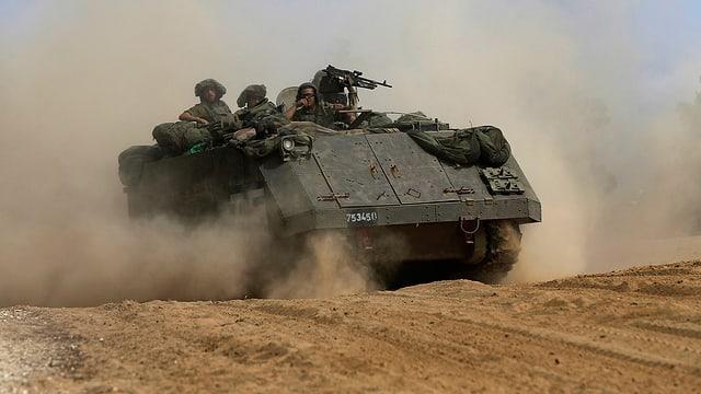 Israelischer Panzer