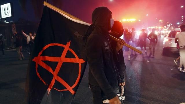 Bandiera da l'antifa