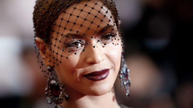 Sängerin Beyoncé Knowles bei einer Gala im Metropolitan Museum of Art, New York.
