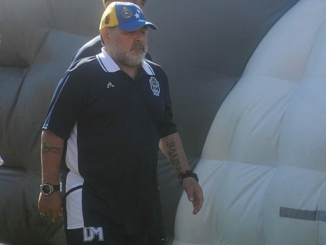 Diego Maradona feiert sein zweites Comeback als Trainer innert 2 Monaten