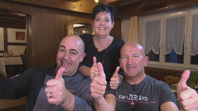 Video «Sarganserland – Tag 3 – Landgasthof Linde, Berschis» abspielen