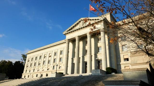Bundesgericht in Lausanne von aussen