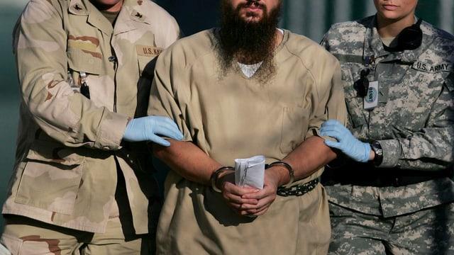 Gefangener in Guantánamo Bay