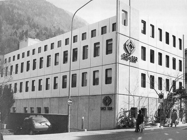 Stabiliment da Radio Televisiun rumantscha a Cuira 1976 fin 2006