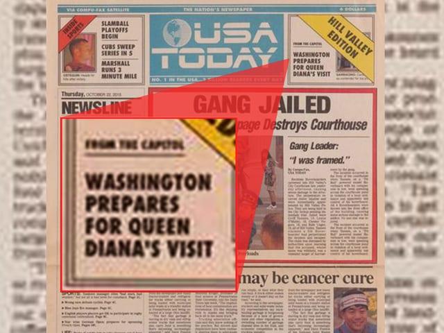Titelseite der USA-Today