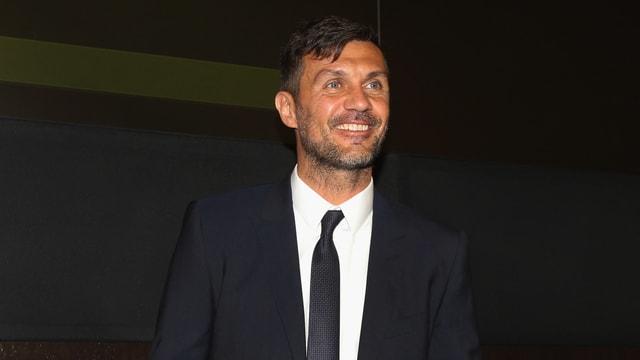 Porträtbild von Paolo Maldini.