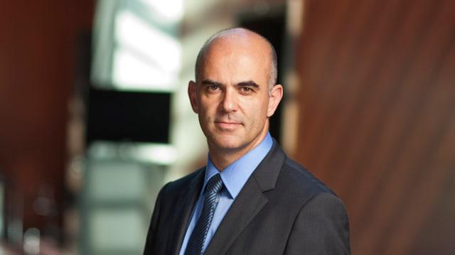 L'actual e futur cusseglier federal Alain Berset (PS).