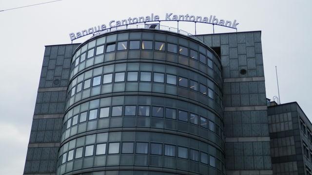 Bild des Hauptsitzes der Kantonalbank in Freiburg.