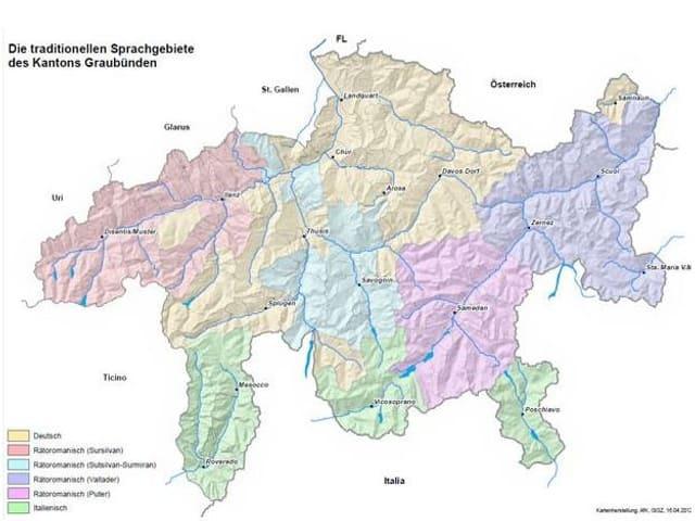 Las linguas dal Chantun Grischun