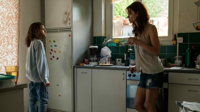 Sarah Spale als drogensüchtige Mutter im Schweizer Kinofilm «Platzspitzbaby».