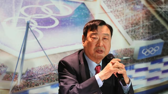 Lee Hee-Beom, OK-Präsident der Spiele 2018 in Pyeongchang.