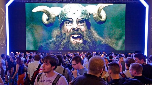 Europas grösste Spielemesse: Die jährlich stattfindende Gamescom in Köln