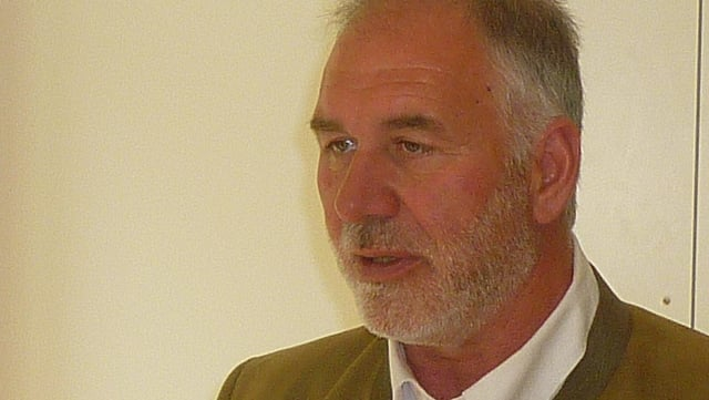 Leo Thomman, il president da la Selva, l'associaziun grischuna d'economia forestala.