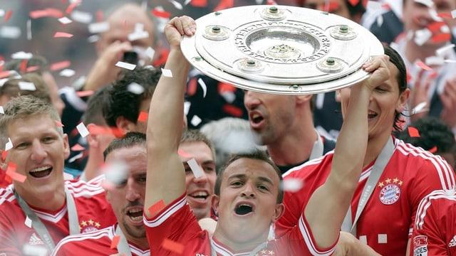Bayern erhält Meisterschale
