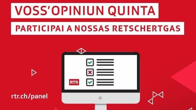 Visual mussa in computer e l'avis da participar al panel sin rtr.ch/panel
