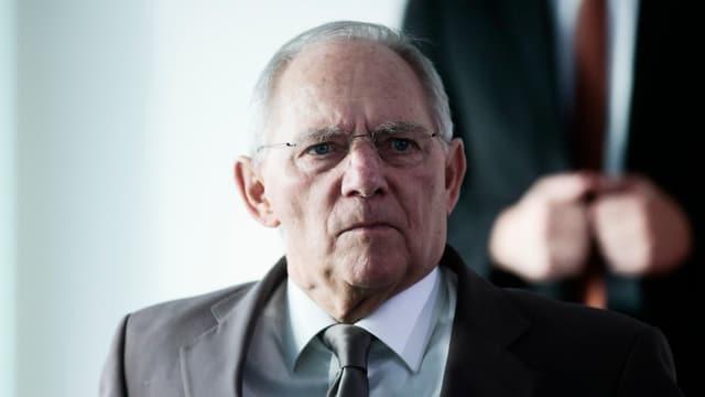 Deutscher Finanzminister Wolfgang Schäuble.