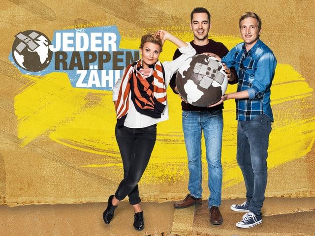 Stefan Büsser, Rosanna Grüter und Fabio Nay.