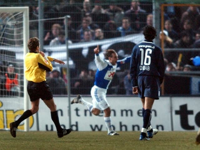 GC-Stürmer Richard Nuñez im Cup-Halbfinal gegen den FCZ.