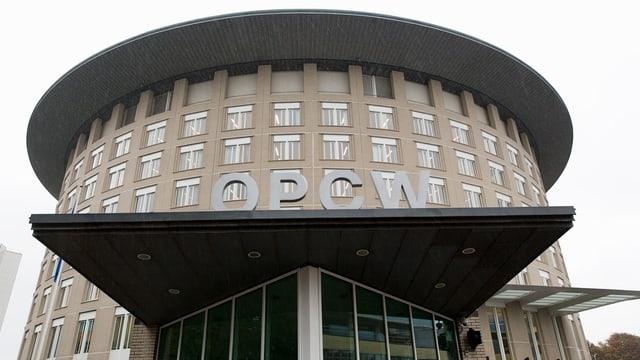 OPWC-Haupsitz in Den Haag.