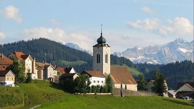 Kirche der Gemeinde Wald