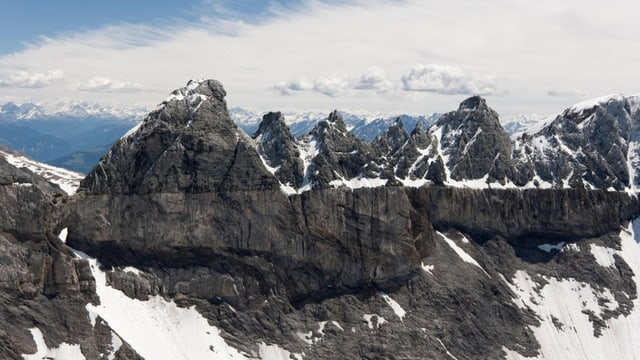 10 onns UNESCO-Welterbe Tektonikarena Sardona.