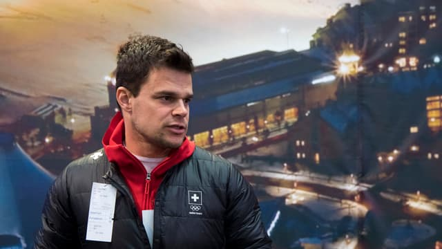 purtret da Patrick Küng, skiunz
