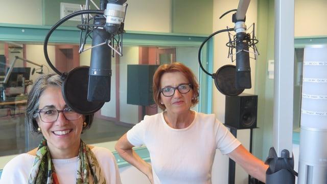 Kathrin Scholl und Renate Gautschy