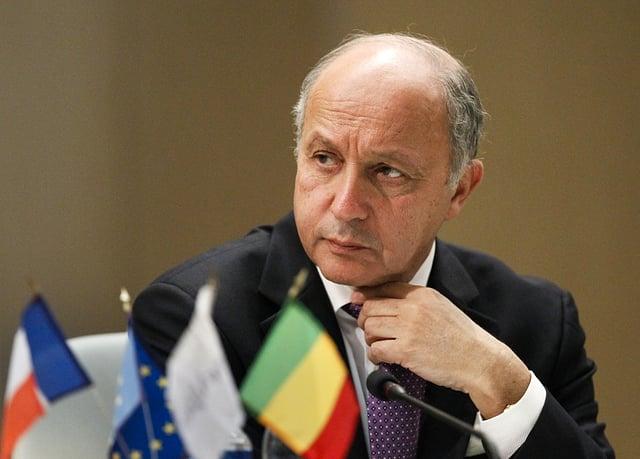 Der französische Aussenminister Laurent Fabius
