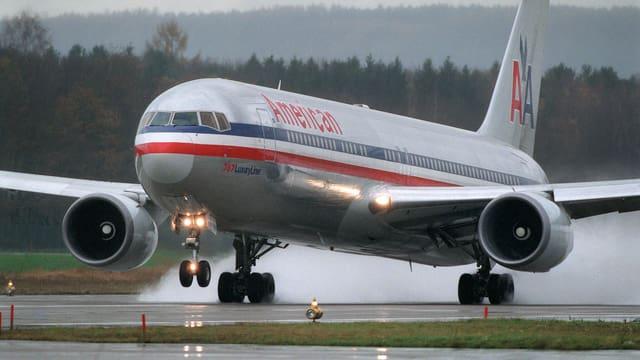 Eine Maschine der American Airlines