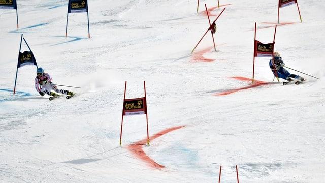 Eine Impression vom Team-Event beim letztjährigen Weltcup-Final in Lenzerheide.