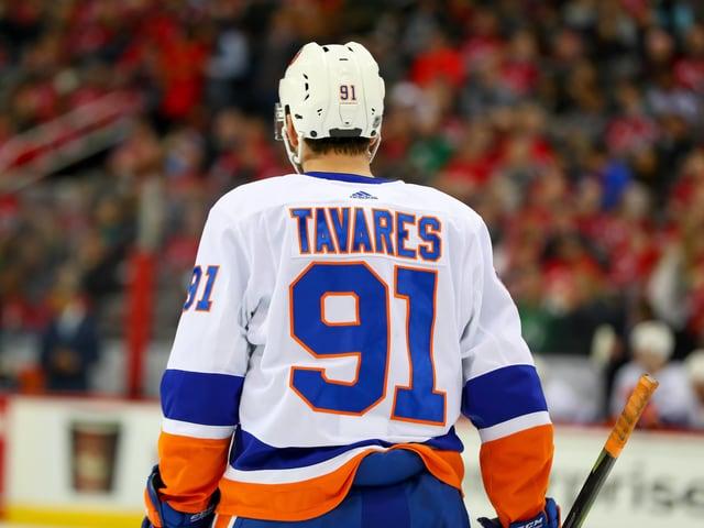 John Tavares zieht das Dress der Islanders nun aus.