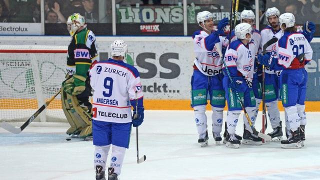 Kloten bejubelt den Sieg über Thurgau im Cup