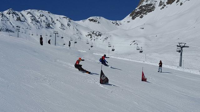 snowboardists sin pista