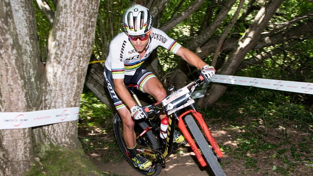 Il mountainbiker Nino Schurter