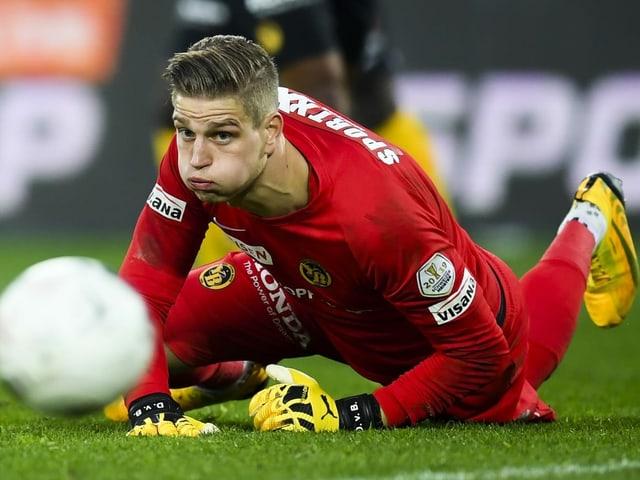 David von Ballmoos: Torhüter, 25 Jahre, Schweiz, 33 Einsätze