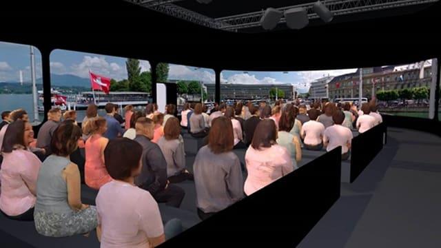 An der Olma kann eine virtuelle Reise durch den Kanton Luzern gemacht werden.