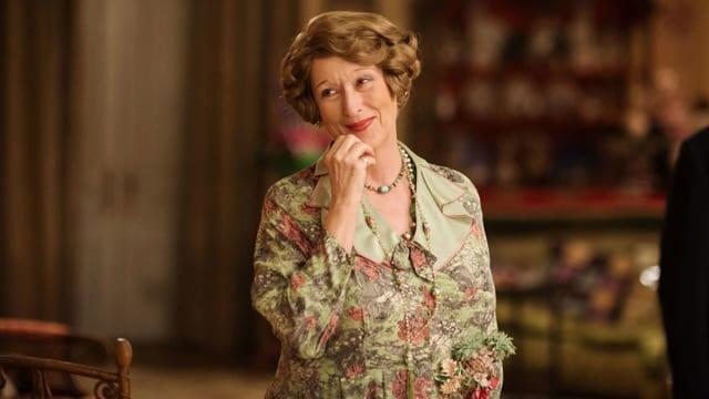 Meryl Streep als Florence Foster Jenkins.