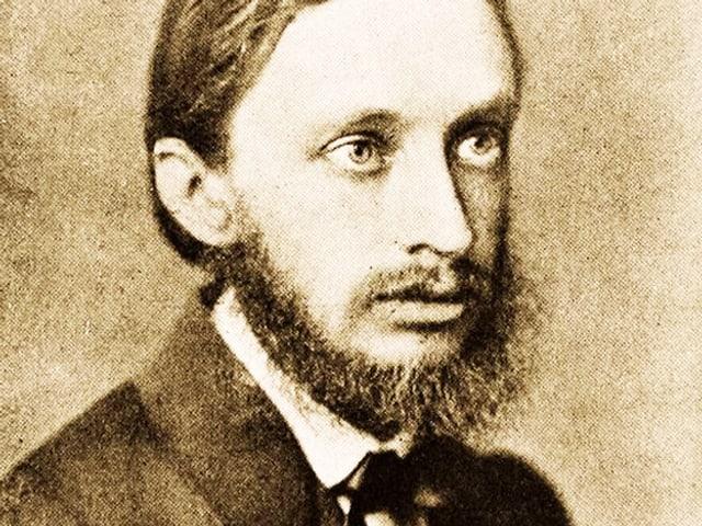 Hermann Goetz im Porträt.