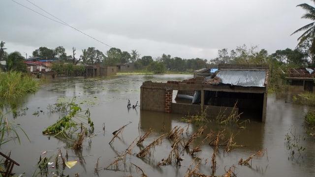 Chasetta inundada e destruida cumplettamain.
