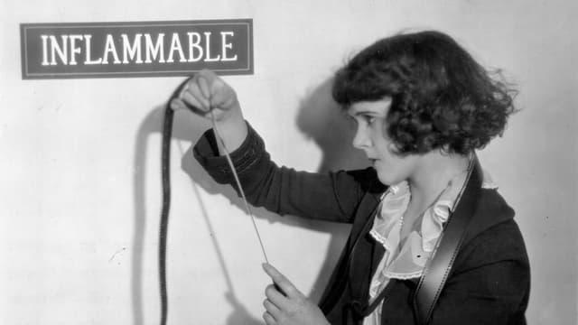 Historische Aufnahme von Blanche Sewell.