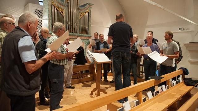Il Chor baselgia Segnas sa prepara per ses giubileum da 100 onns.