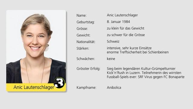 Starke Frau an forderster Front: Anic Lautenschlager.