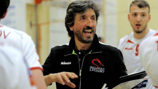 Mario Motta soll mit den Volleyballern Erfolge erzielen.