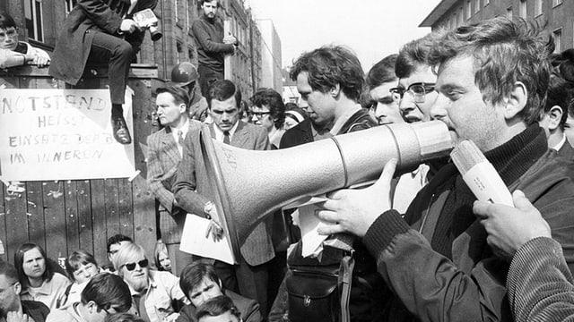 Proteste in Berlin, 1968