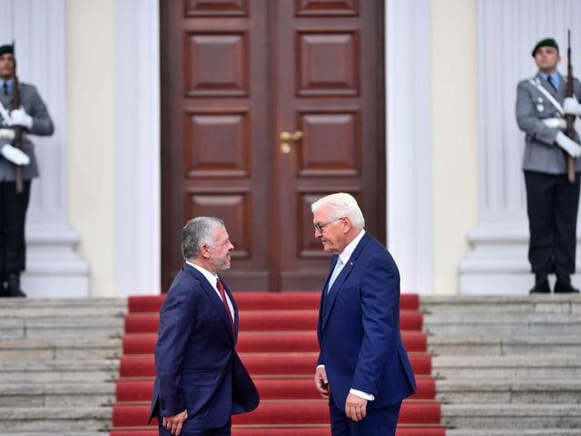 Besuch in Berlin bei Bundespräsident Frank-Walter Steinmeier, September 2019