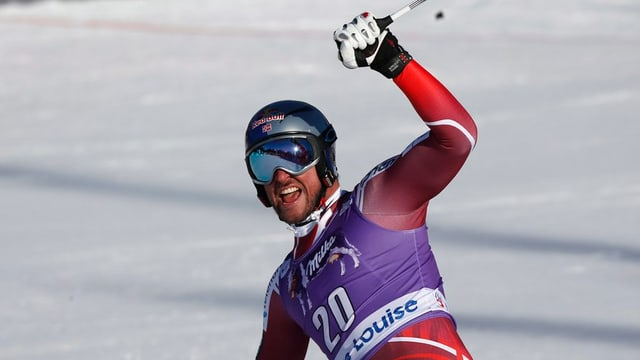 Il skiunz norvegiais Aksel Lund Svindal.