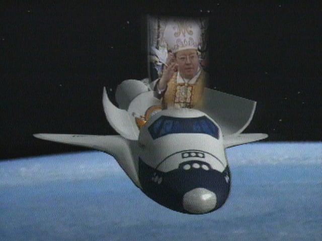 L'uvestg salida ord in spaceshuttle - coolira maletg.